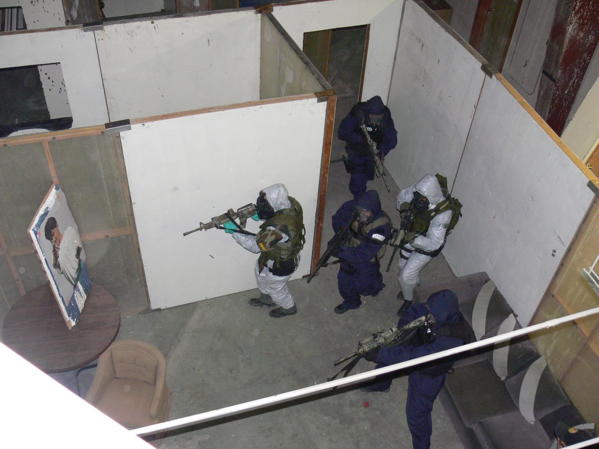 Close Quarters Battle CQB.