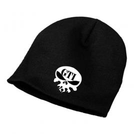 GTI Beanie Cap with Skull logo