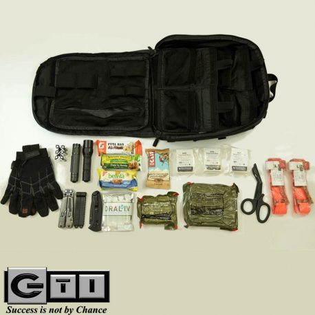 CARR Pack GEN 3 Utility Bag Large Black With Contents Displayed