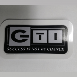 GTI Corporate Success Is Not By Chance Decal