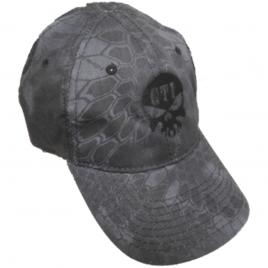 Kryptek GTI Skull Hat Typhon (Black)