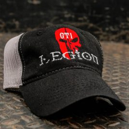 GTI Legion Black-Gray Hat