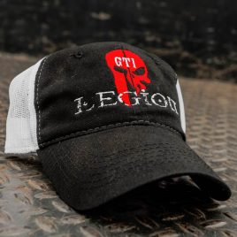 GTI Legion Black-White Hat
