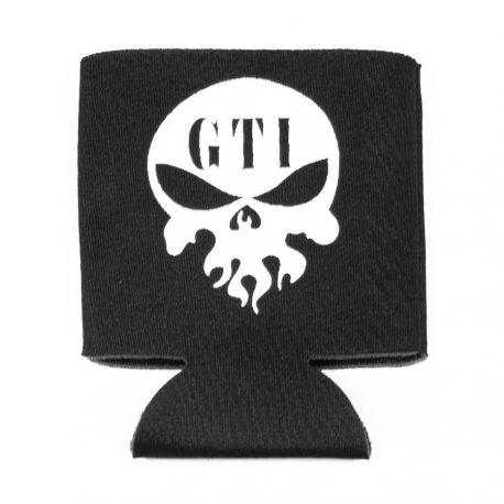 Koozie Black GTI Skull Logo