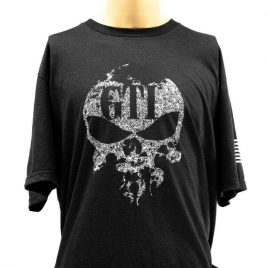 Tee Tri-blend Black GTI Faded Skull