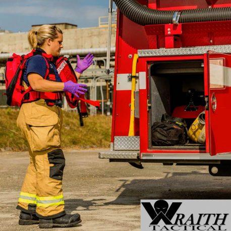 Wraith Tactical CARR Pack Gen 2 Red Firetruck 2