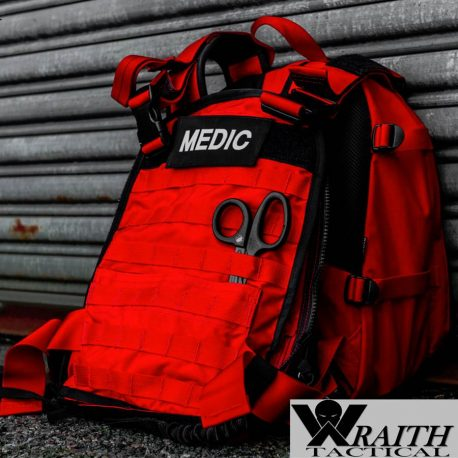 Wraith Tactical CARR Pack Gen 2 Red Front Deployed