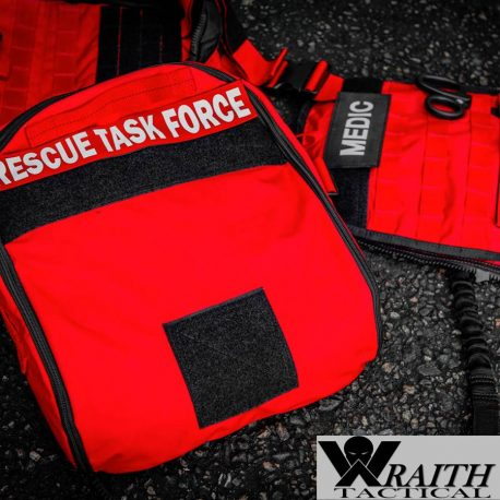 Wraith Tactical CARR Pack Gen 2 Red With Large Utility Bag