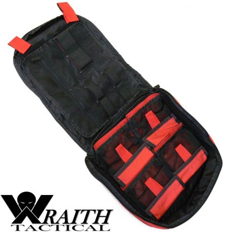 Wraith Tactical CARR Pack Medical Bag Large Red