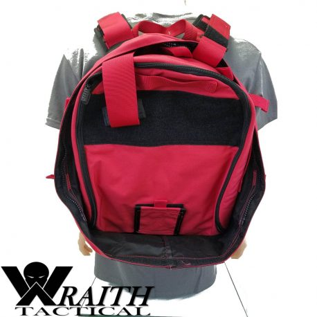Wraith Tactical CARR Pack Red Back With Medical Bag 1