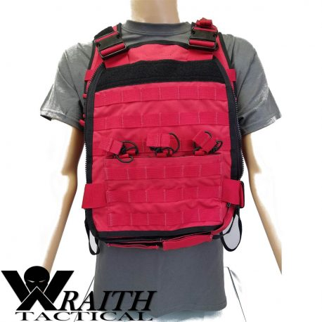 Wraith Tactical CARR Pack Red Front 1