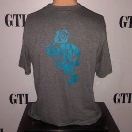 Women's GTI Rose & Skull Tee