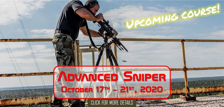 Advanced Sniper October 17th-21st, 2020