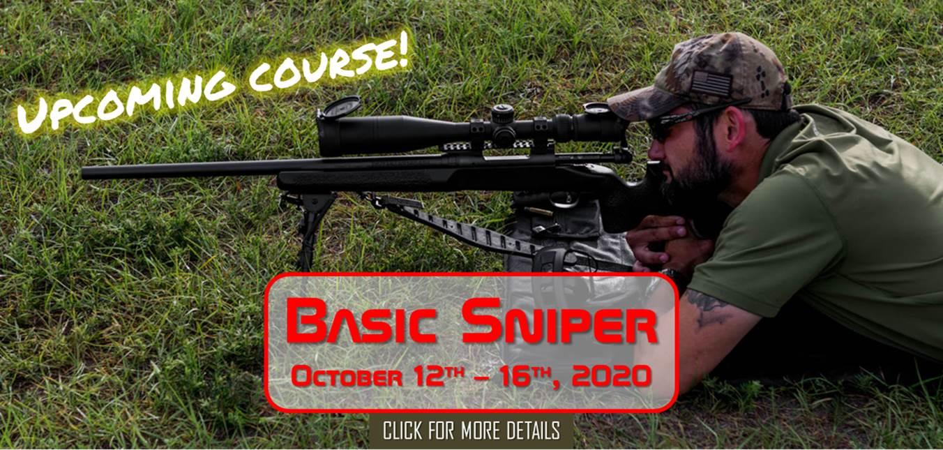 Basic Sniper October 12th-16th, 2020
