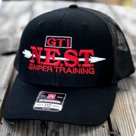 Hat-Nest-Red-Black-Front