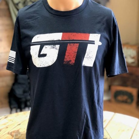 Navy Shirt GTI Corp Flag Front