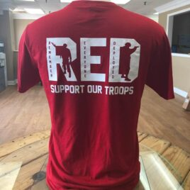 RED Remember Everyone Deployed Back