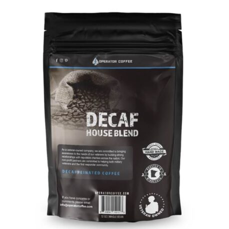 Operator Coffee Decaf House Blend B