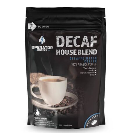 Operator Coffee Decaf House Blend WB