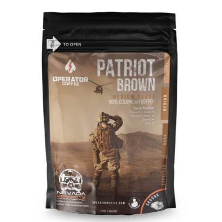 Operator Coffee - Patriot Brown