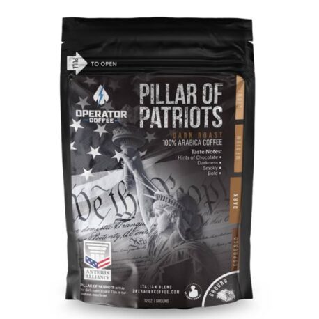 Operator Coffee Pillar of Patriots G