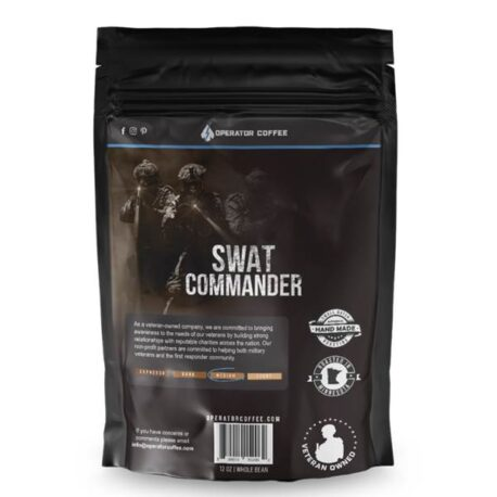 Operator Coffee - SWAT Commander