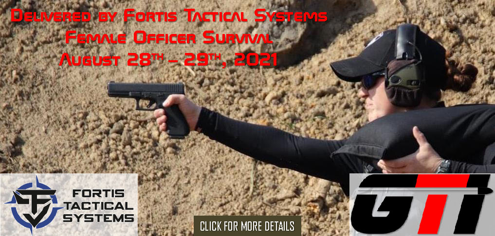 Female Officer Survival Course August 28th - 29th, 2021