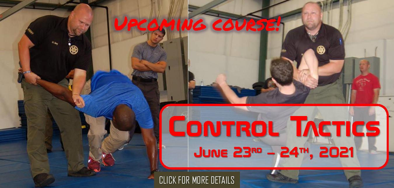 Control Tactics June 23rd - 24th, 2021
