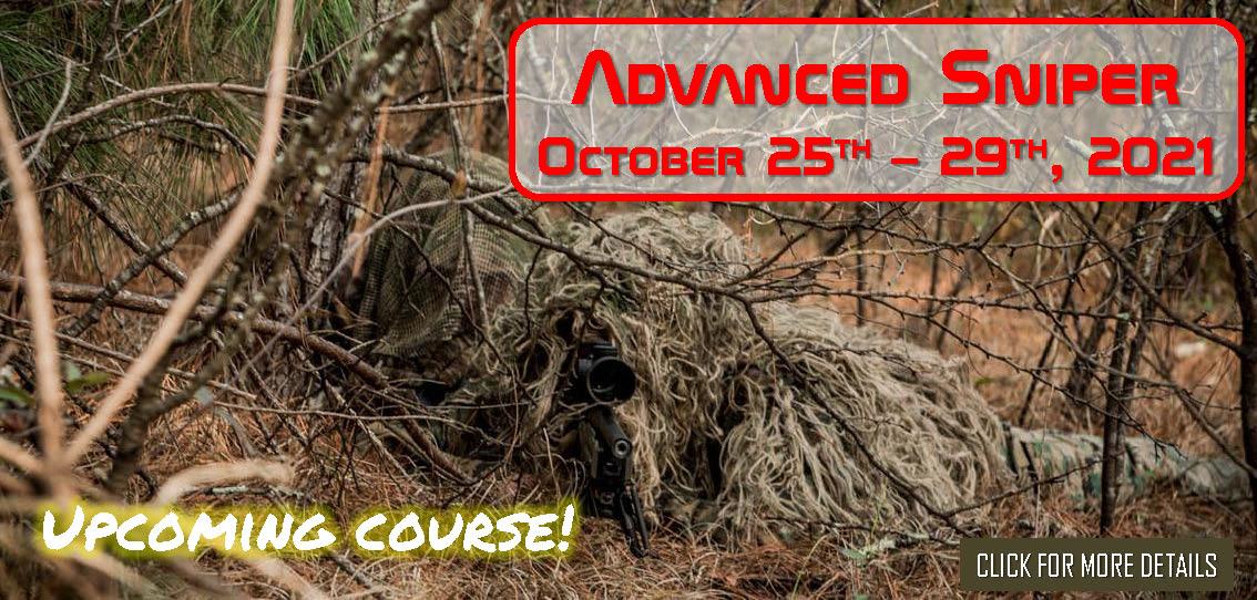 Advanced Sniper October 25th 29th 2021