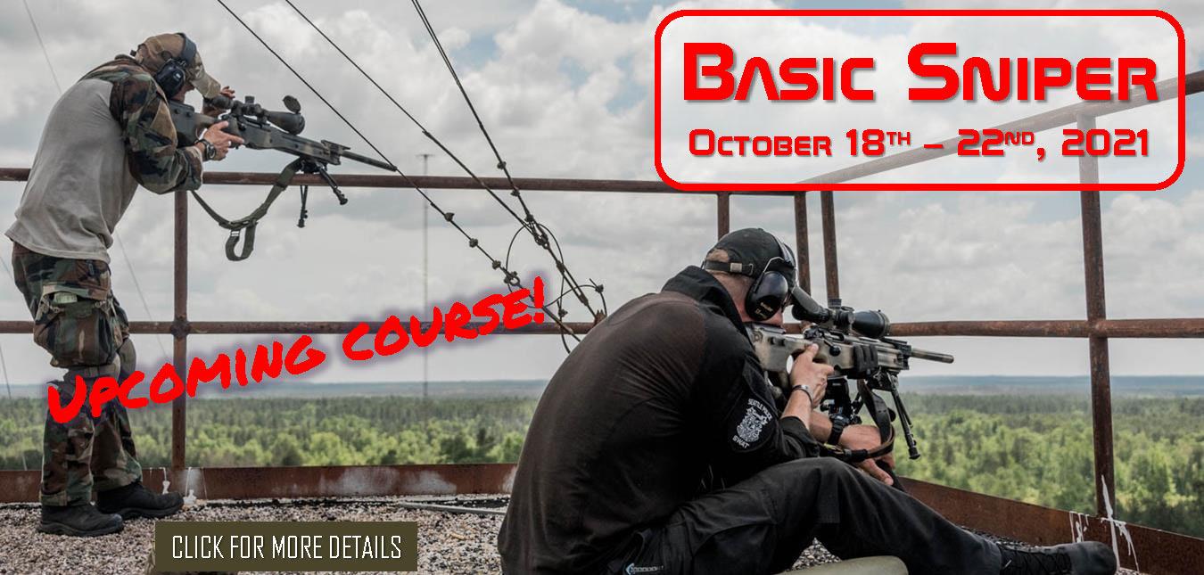 Basic Sniper October 18th 22nd 2021
