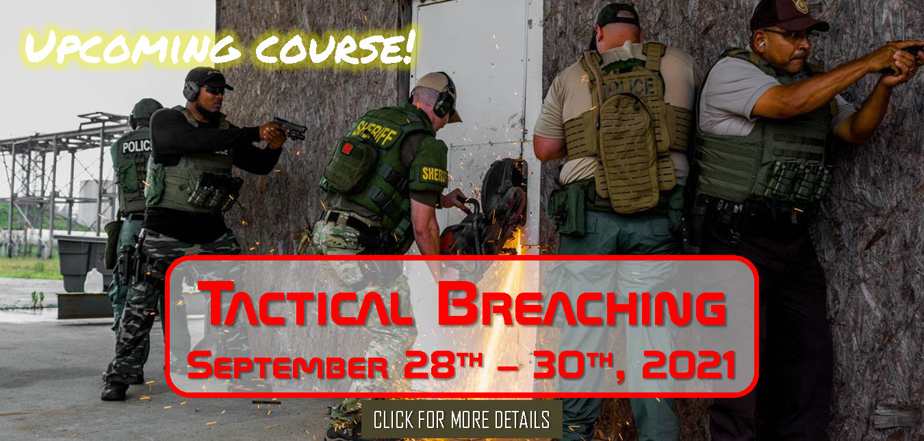 Tactical Breaching September 28th 30th 2021