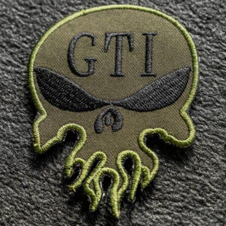 OD Green Skull Patch 3 Inch