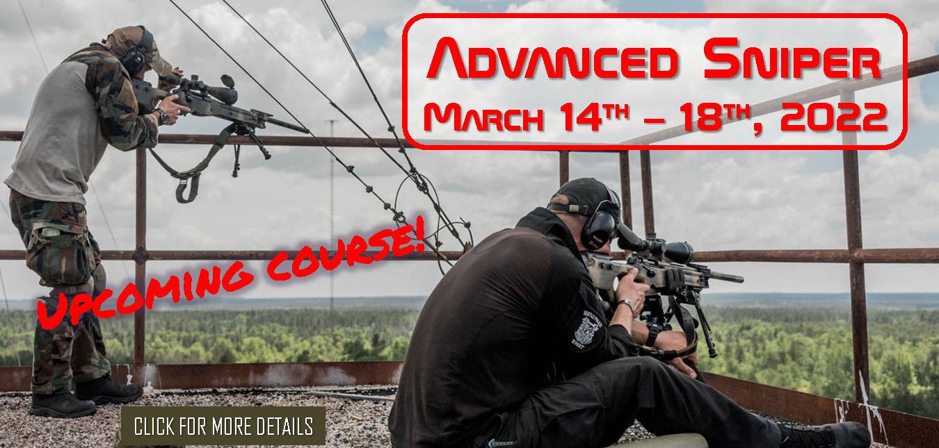 Advanced Sniper March 14th 18th 2022