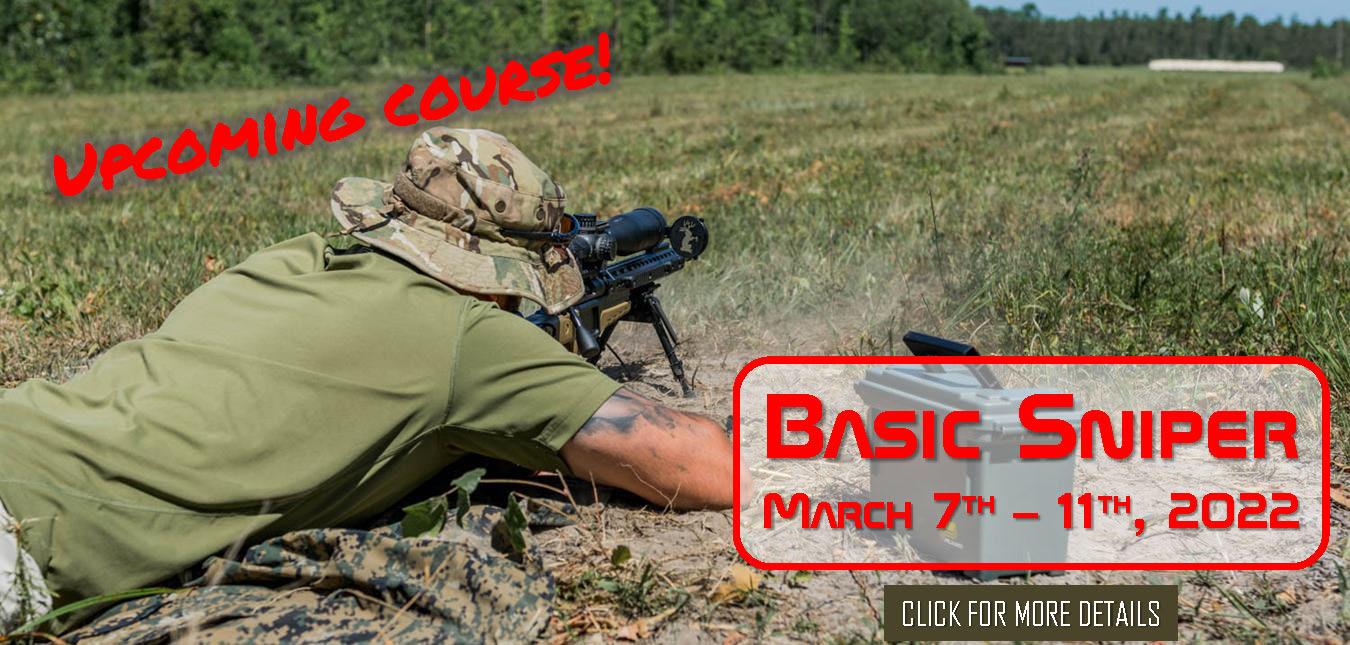Basic Sniper March 7th 11th 2022